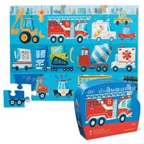 Croc Creek Shaped Box Puzzle Fire Truck