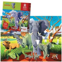 Wild Safari 500pc Jigsaw