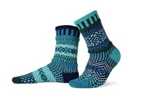 Adult Crew Evergreen Socks Medium