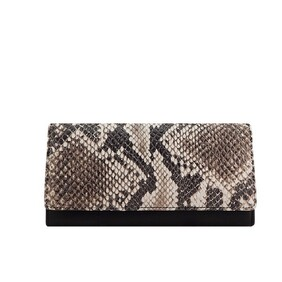 Monk Alexis Wallet - Black/White Snake