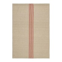 Linen Blend Striped Tea Towel