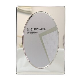 Silver Photo Frame Style 7 6x4""