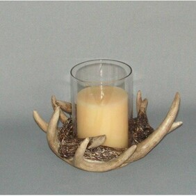 Stag Antlers Candle Holder