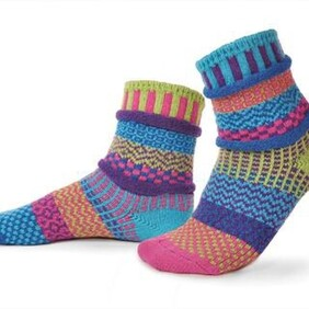 Adult Crew Bluebell Socks Small