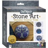 Craft maker Metallic Mini Rock Kits - Cosmic Tree