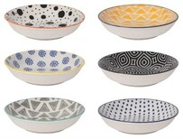 Bits & Dots Pinch Bowls Set of 6
