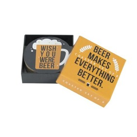 Coaster Set - Beer Set 8