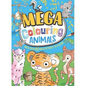 Mega Colouring Book - Baby Animals