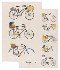 Bicicletta Tea Towel Set of 2