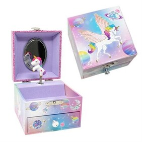 PP To the Moon Small Music Box