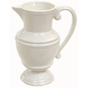 Small Pitcher White